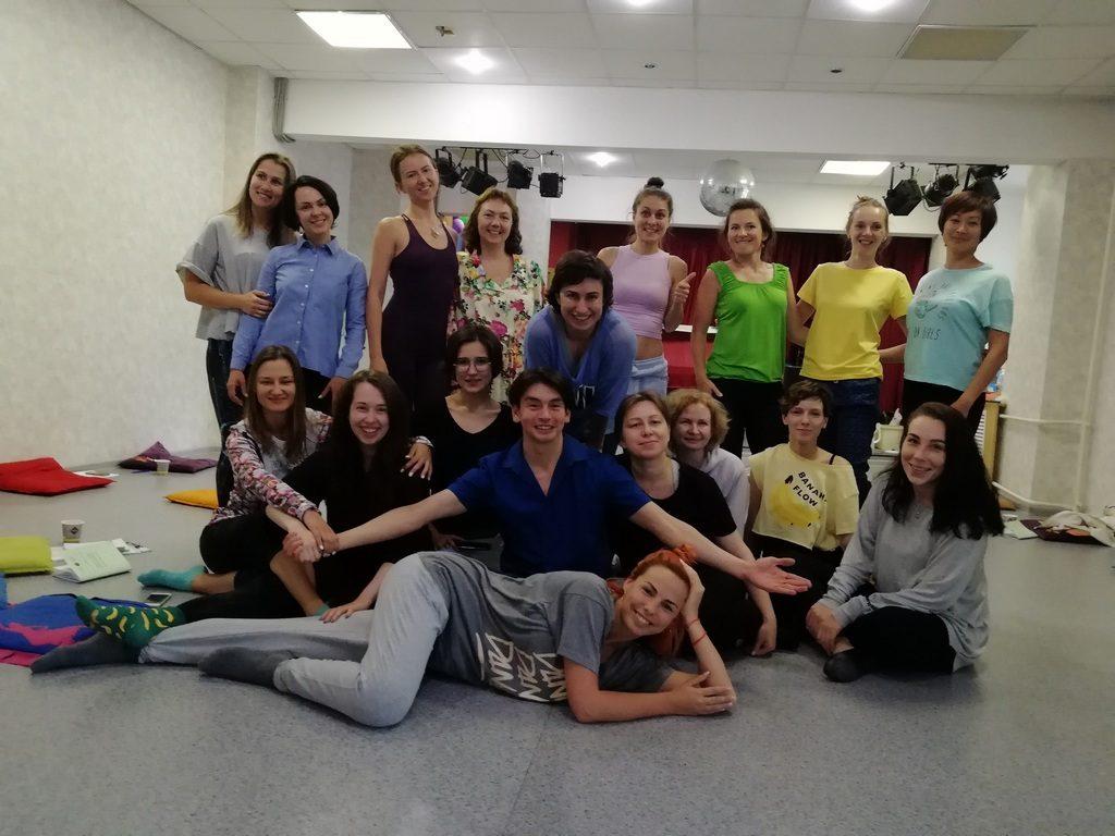 Вводный курс по Танцевально-двигательной терапии. Москва, июль 2019 г.